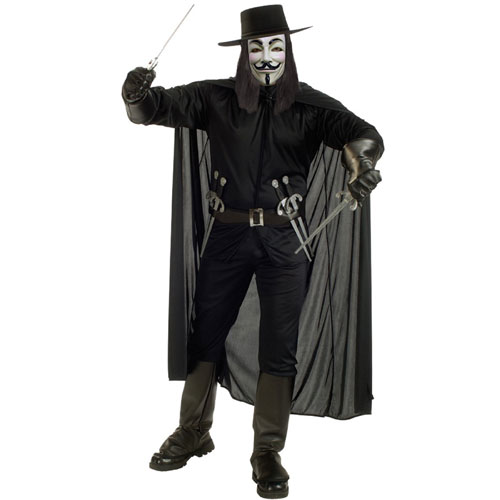 Rubies Costume Co 21138 V for Vendetta Deluxe Size Standard BUYS3032
