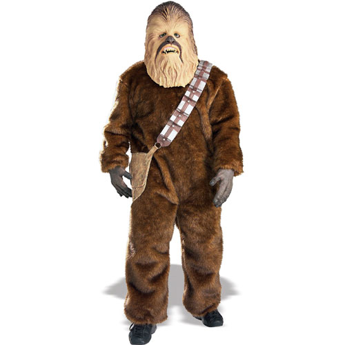 Rubies Costume Co 27395 Star Wars Chewbacca Adult Size Standard One-Size BUYS3134