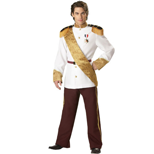 In Character Costumes 32509 Prince Charming Elite Collection Adult Costume Size Large