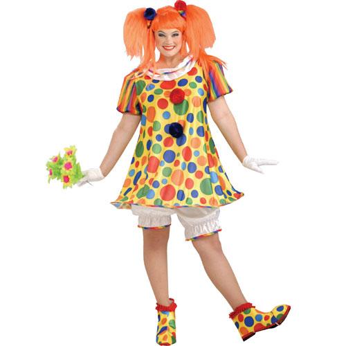 Forum Novelties Inc 33747 Giggles The Clown Adult Plus Costume Size Plus 18-22