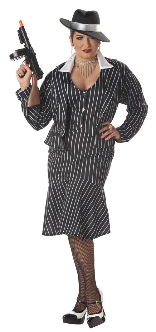 California Costume Collection 33928 Mafia Mama Plus Adult Costume Size Plus 1622