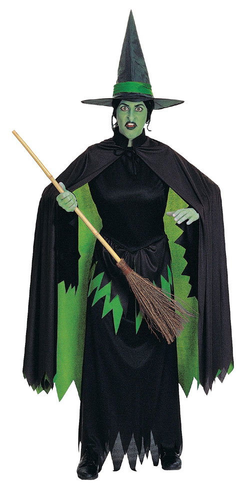 Rubies Costume Co 108 The Wizard of Oz Wicked Witch Adult Costume- Women 8-14