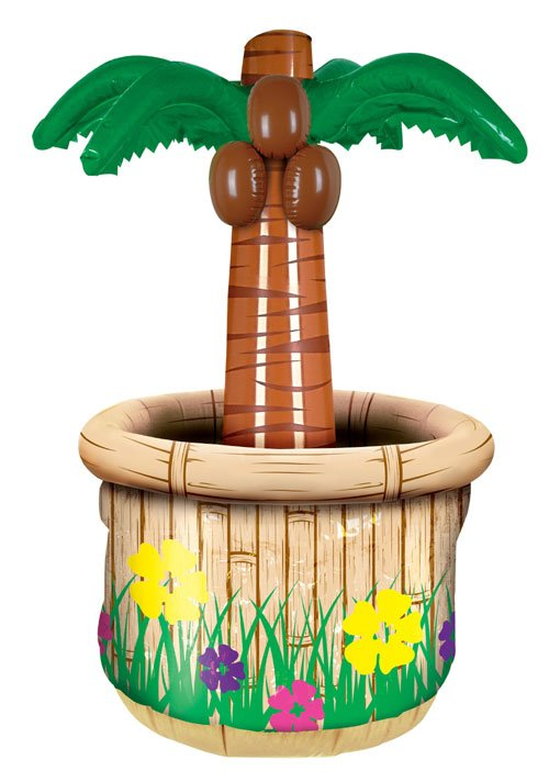Beistle Company 30167 2  Inflatable Palm Tree Cooler