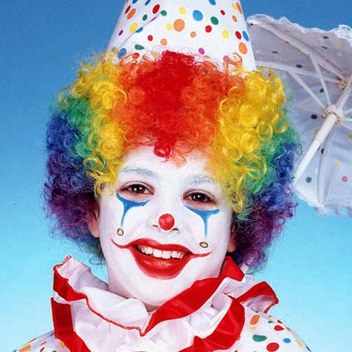 Peter Alan Inc 27077 Child s Rainbow Clown Wig