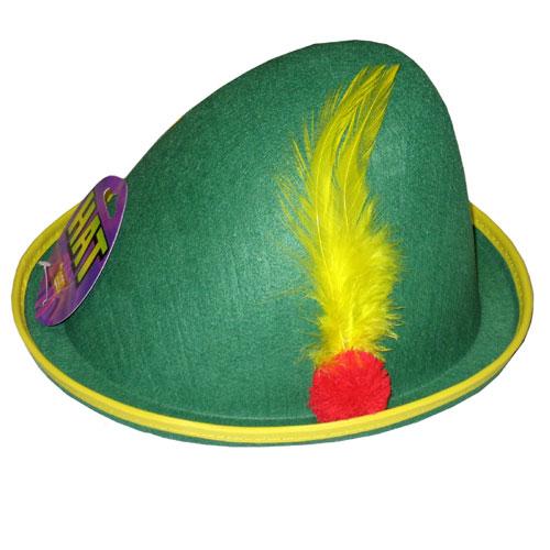 Forum Novelties Inc 2106 Alpine Hat with Feather  Economy