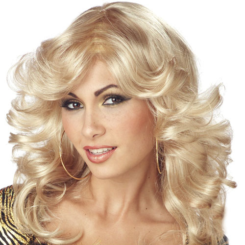 California Costume Collection 18345 Discorama Mama Blonde Wig Adult