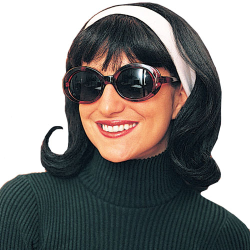 Franco-American Novelty Co 21626 1950 s Jackie Wig Black