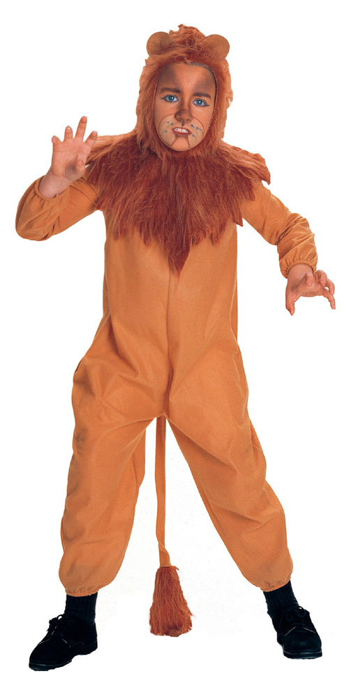 Rubies Costume Co 7152 The Wizard of Oz Cowardly Lion Child Costume Size Medium- Boys 8-10 BUYS8115