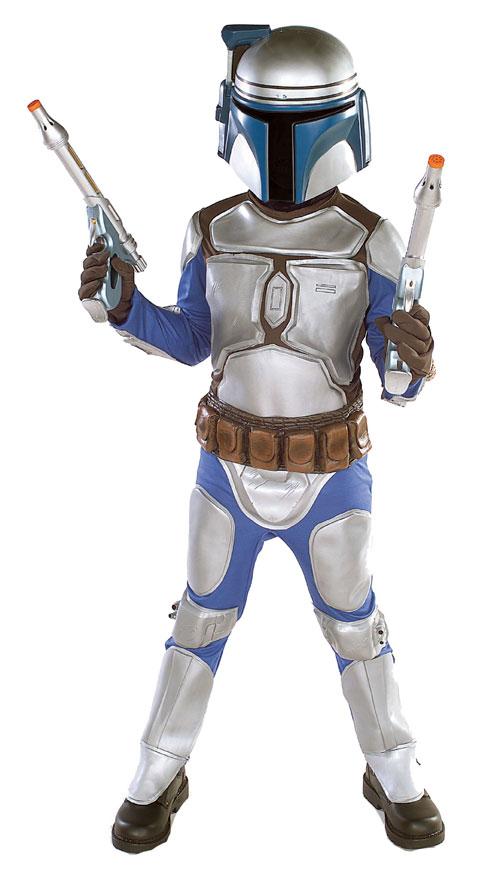 Rubies Costume Co 10624 Star Wars Jango Fett Child Costume Size Medium- Boys 8-10