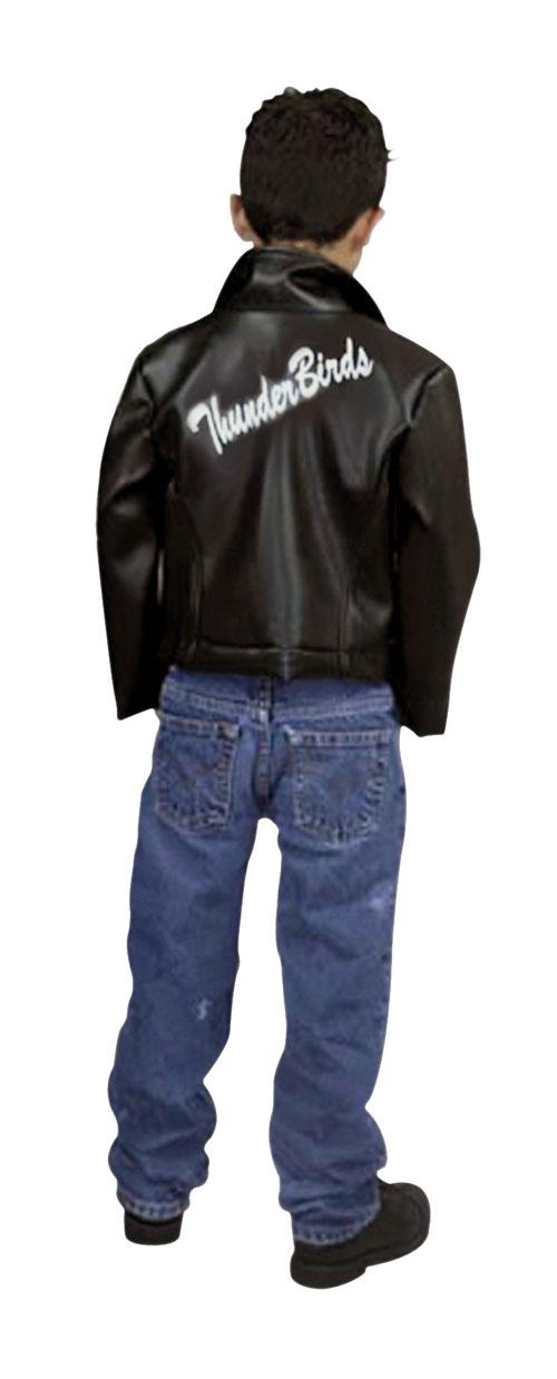 Charades Costumes 19501 Fifties Leather Jacket Child Costume Size Medium 8-10