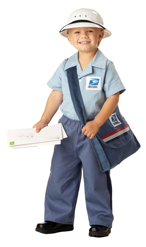 California Costume Collection 31564 Mr. Postman Toddler Costume- Size 2-4
