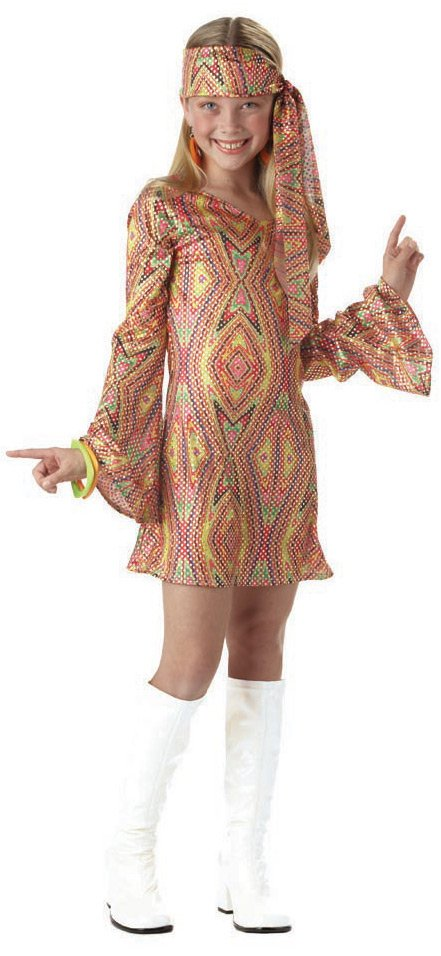 California Costume Collection 31574 Disco Dolly Child Costume Size Large- Girls 12-14