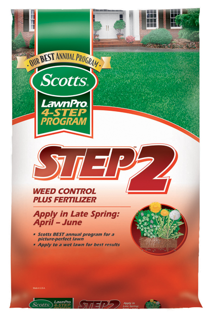 Wetsel 202934 Scotts Step 2 Weed Control Plus Fertilizer Covers 5000 Sq. Ft.