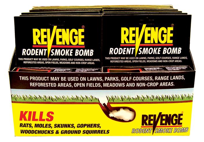 Bonide Revenge Mole Gasser Model 61110-12 Pack of 12 wets719