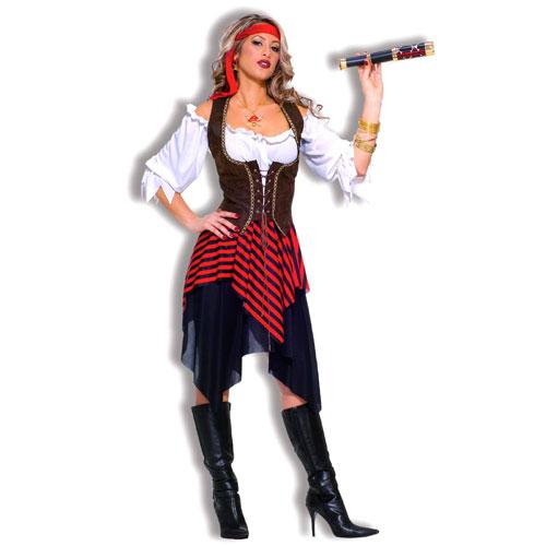 Forum Novelties Inc 33716 Sweet Buccaneer Adult Costume Size Standard One-Size- Women 8-12