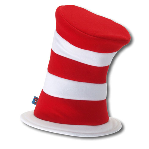 Elope 18272 Dr. Seuss Cat In The Hat Deluxe Hat Size One-Size