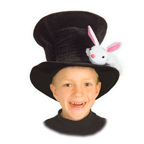 Elope 19464 Kid s Magician Hat with Rabbit