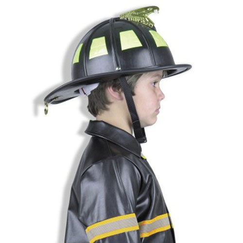 Charades Costumes 17993 Black Fire Helmet