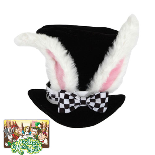 Elope 19458 Alice In Wonderland - Classic White Rabbit Hat