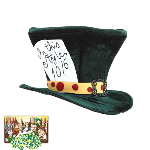 Elope 19459 Alice In Wonderland - Classic Mad Hatter Hat