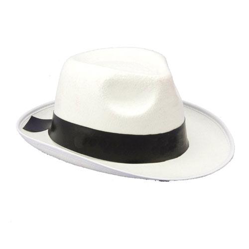 Forum Novelties Inc 20798 White Gangster Hat White