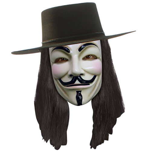 Rubies Costume Co 21135 V for Vendetta Mask BUYS7496