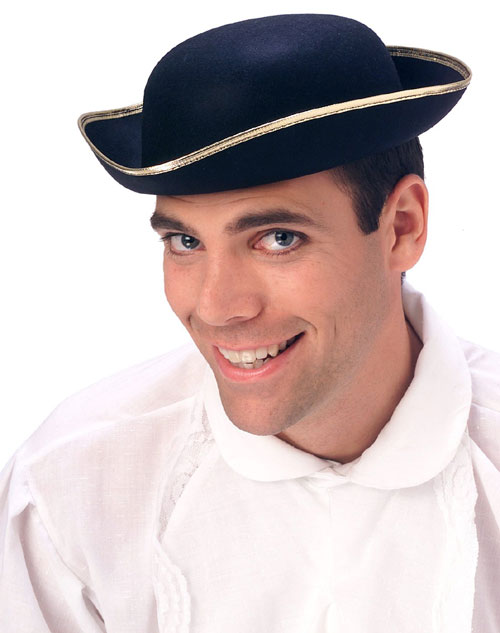 "Rubies Costume Co 105339 11""L x 10""W x 4""H Tricorn Hat BUYS7892"