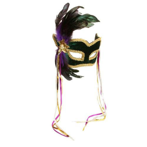 Forum Novelties Inc 11134 Mardi Gras Feather Couples Mask