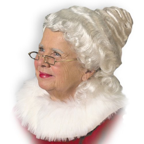 Halco 18214 Mrs. Claus Wig Adult Size One-Size