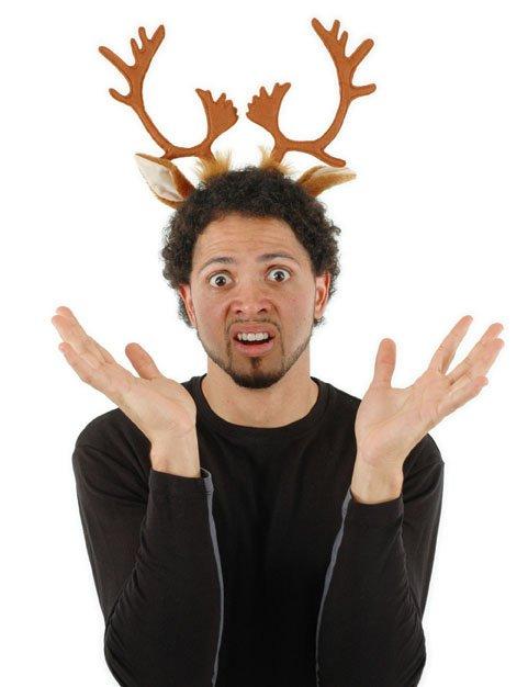 Elope 34281 Reindeer Antlers Headband