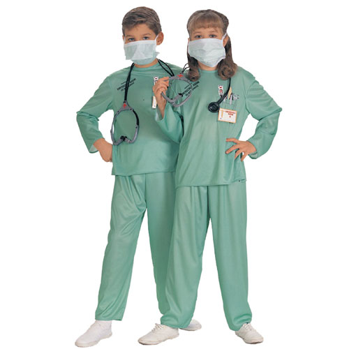 Rubies Costume Co 5756 Doctor ER Child Costume- Boys 4-6 BUYS8072