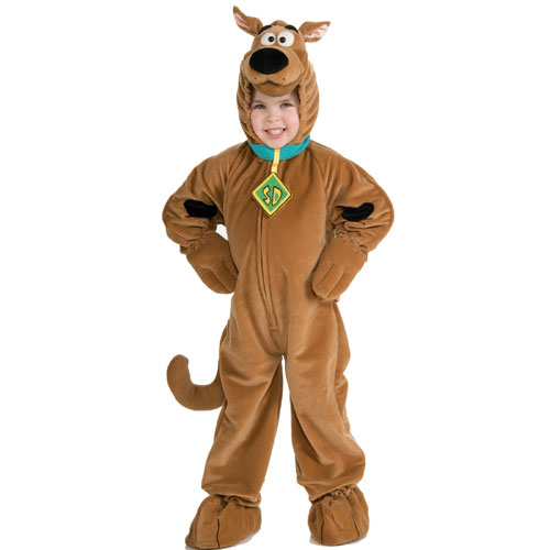 Rubies Costume Co 6293 Scooby Doo Super Deluxe Child Costume Size Small- Boys 4-6 BUYS8089