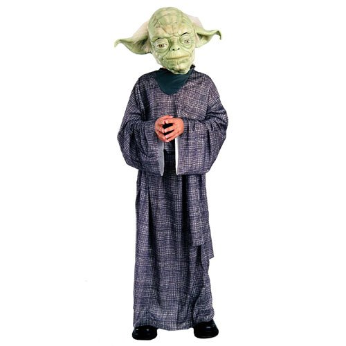 Rubies Costume Co 10601 Star Wars Yoda Deluxe Child Costume Size Small- Boys 4-6 BUYS8128
