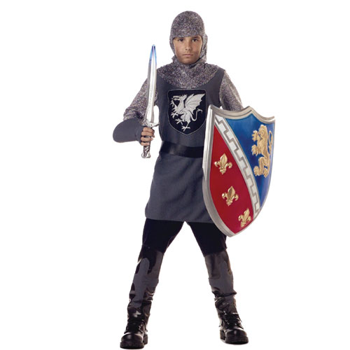 California Costume Collection 17221 Valiant Knight Child Costume Size Small 6-8