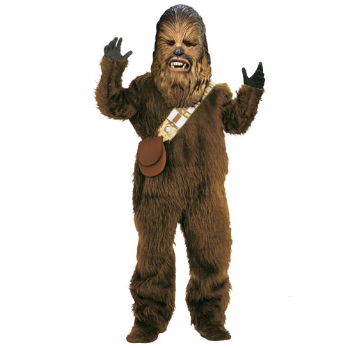 Rubies Costume Co 18789 Star Wars Chewbacca Super Deluxe Child Costume Size Small- Boys 4-6 BUYS8329