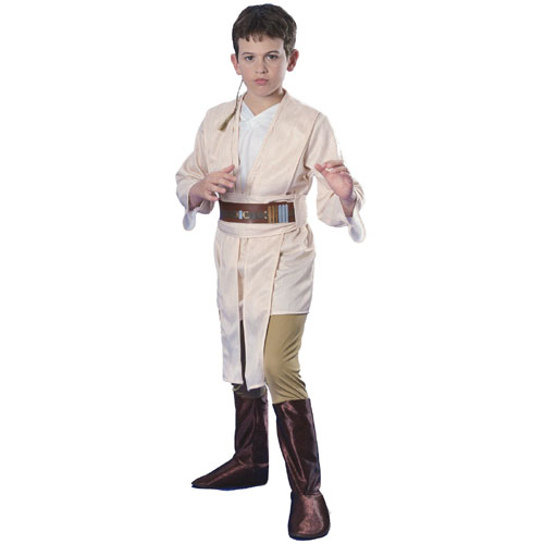 Rubies Costume Co 18790 Star Wars Obi-Wan Deluxe Child Costume Size Medium- Boys 8-10 BUYS8331