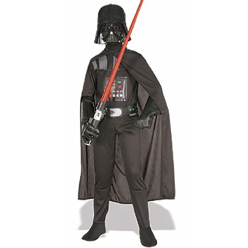 Rubies Costume Co 19110 Star Wars Darth Vader Standard Child Costume Size Medium- Boys 8-10 BUYS8372
