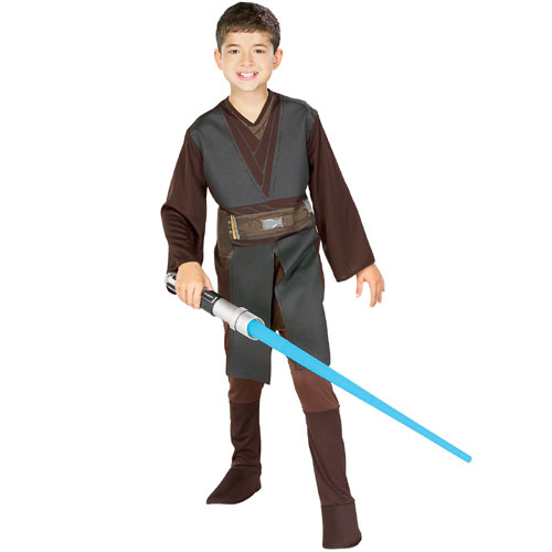 Rubies Costume Co 19111 Star Wars Anakin Skywalker Standard Child Costume Size Medium- Boys 8-10 BUYS8375