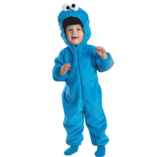 Disguise Inc 32791 Sesame Street - Cookie Monster Toddler Costume- Size 4-6