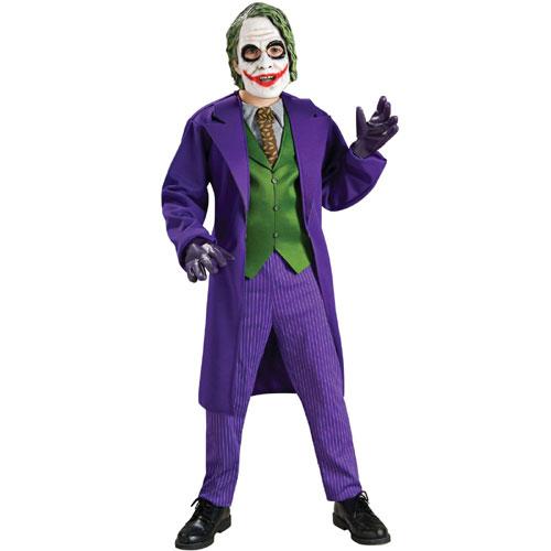 Rubies Costume Co 32966 Batman Dark Knight Deluxe The Joker Child Costume Size Small- Boys 4-6 BUYS8894