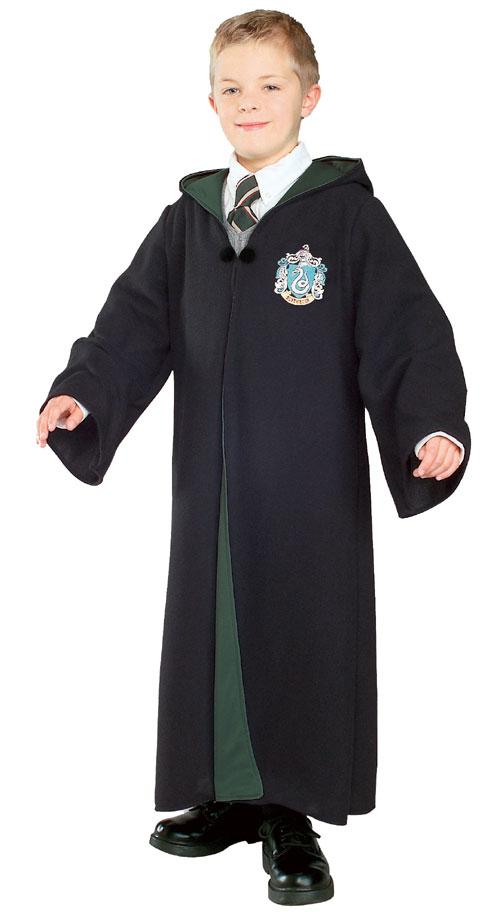 Rubie and amp;apos;s Costume Co 33033 Harry Potter and amp; The Half-Blood Prince Deluxe Slytherin Robe Child Costume Size Large- Boys 12-14