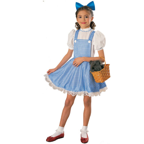 Rubies Costume Co 7651 The Wizard of Oz Dorothy Deluxe Child Costume Size Large- Girls 12-14