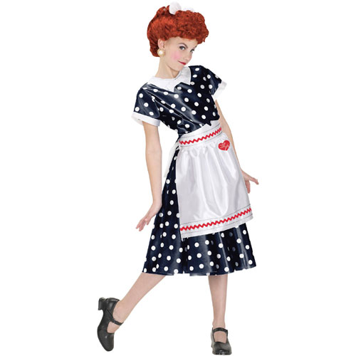 i love lucy costume. Fun World 17670 I Love Lucy