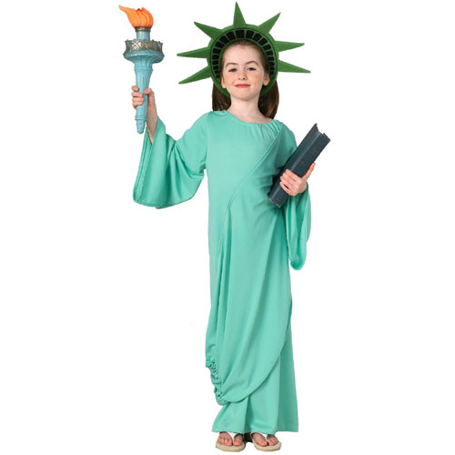 Rubies Costume Co 21038 Statue of Liberty Child Costume Size Small- Girls 4-6 BUYS9491