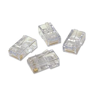 Platinum Tools 180 0600 Ez -RJ45 Cat5/5e Plug Connectors - 15 Packs