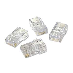 Platinum Tools 180 0611 Ez -RJ45 Cat5/5e Plug Connectors - 50 Pieces