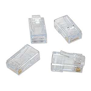 Platinum Tools 180 0613 50Pcs Ez-RJ45 CAT6 Connectors