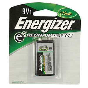 Energizer Rechargeable 9v Battery  150mah  Single