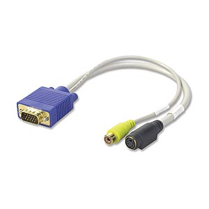 Video Card To S Video and TV Adapter Cable