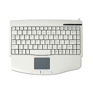 Comfortable Compact Keyboard with Touchpad PS2